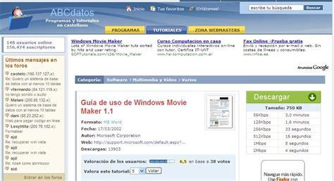tutorial windows media movie maker tutoriales windowsmoviemaker mariapresso