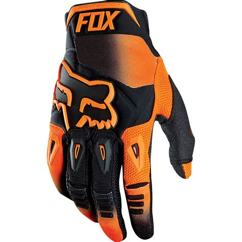Glove Fox fox 2015 pawtector race orange gloves sunstate motorcycles