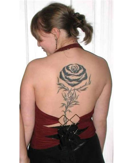 rose tattoo on the back 121 traditional modern tattoos and designs