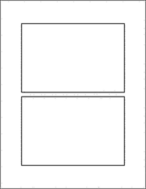 4 index cards per page template label templates ol145 6 quot x 4 quot labels