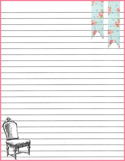 printable stationary with lines sweetly scrapped free stationary with crows and roses