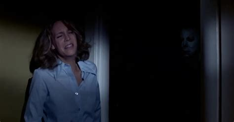 jamie lee curtis on halloween jamie lee curtis don t go up the stairs