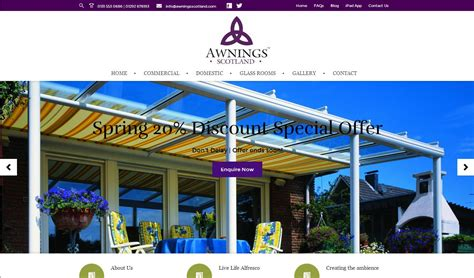 Awnings Scotland awnings scotland awning suppliers across the ukstorm 360