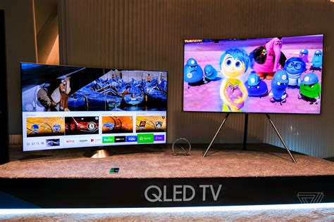 samsung says its new qled tvs are better than oled tvs the verge