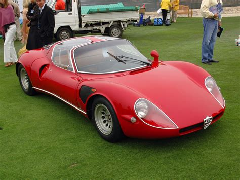 1967 alfa romeo tipo 33 stradale pictures specifications