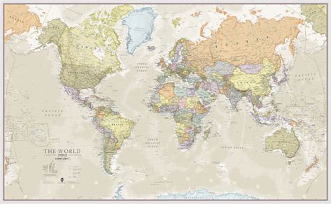 classic maps classic map of the world by maps international notonthehighstreet