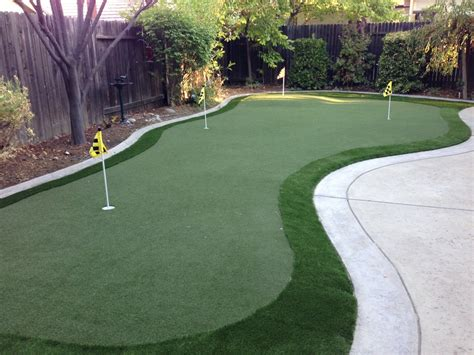 putting green in your backyard my d i y putting green experience