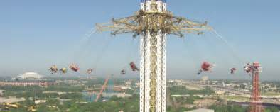 six flags texas swing ride win tickets to ride the new texas skyscreamer at six flags