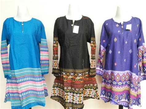 Pakaian Wanita Blouse Jumbo sentra grosir blouse fuji jumbo wanita dewasa murah 35ribu