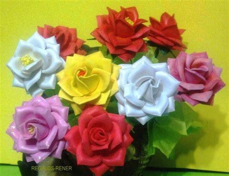 tutorial flores de goma eva foami rosas de 7 cm de di 225 mtro en goma eva termoformada flores
