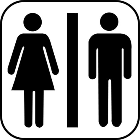 Symbol Toilette