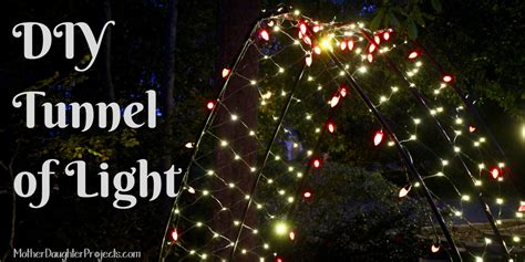 how to fix a section of christmas lights holiday lights arch mother daughter projects