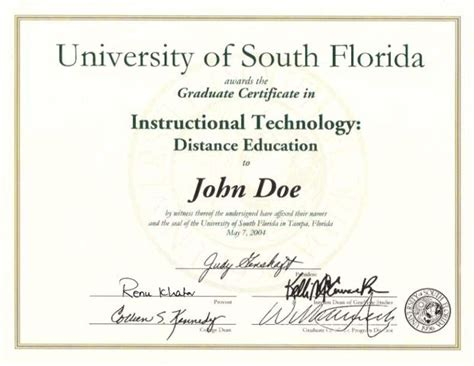 instructional design graduate certificate instructional technology program programs and curricula