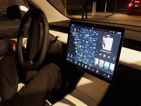 new interior image of tesla model 3 surfaces best tesla model 3 price specs and release date car