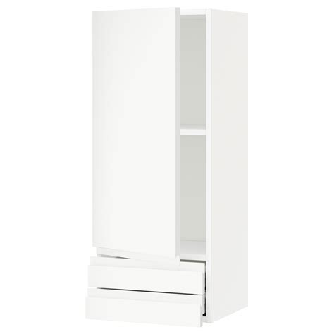 metod maximera wall cabinet with door 2 drawers white metod maximera wall cabinet with door 2 drawers white