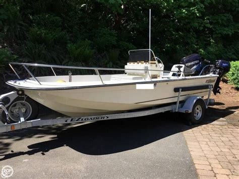 18 center console boat 1988 used wahoo 18 5 center console fishing boat for sale