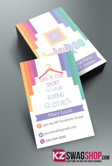 Lularoe Business Cards 6 183 Kz Creative Services 183 Online Store Powered By Storenvy Vistaprint Large Door Hanger Template