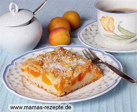 Aprikosen Kokos Kuchen Vom Blech Mamas Rezepte Mit