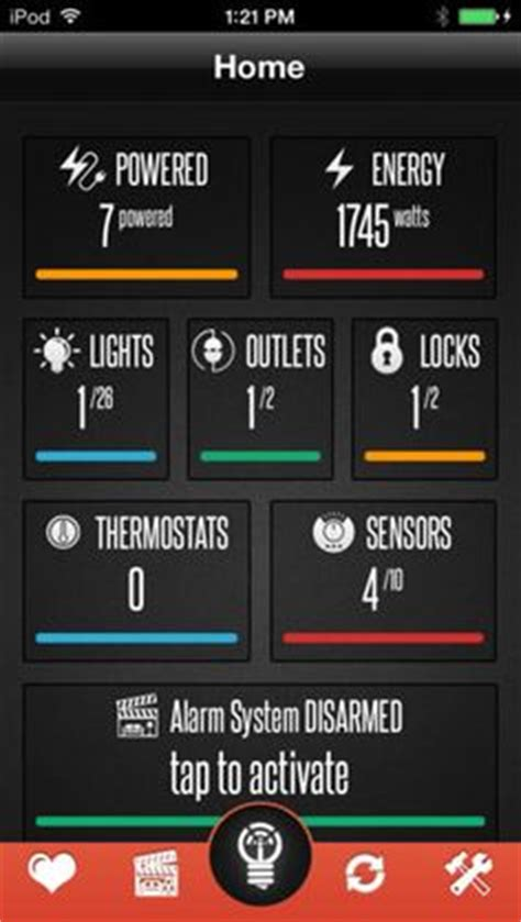 smartthings home automation dashboard gadgets