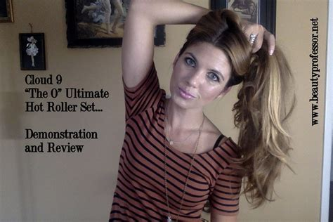 ultimate haircut 6 youtube cloud nine the o ultimate hot roller set demonstration