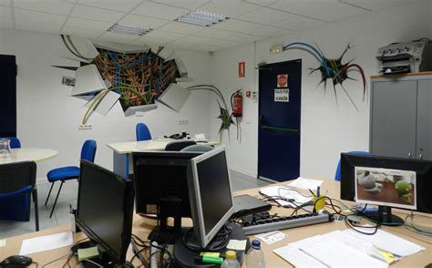 oficinas aena madrid graffiti company arte a chorros acueducto2