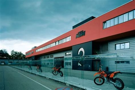 Austria Ktm Factory Ktm Factory In Mattighofen Austria Ktm