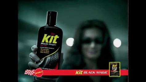 Kit Black Magic Untuk Membersihkan Dan Mengkilapkan Ban Mobil Dan Mot 1 kit black magic tire gel