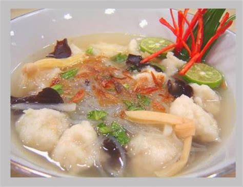 Tekwan Tenggiri resep tekwan kuliner khas palembang