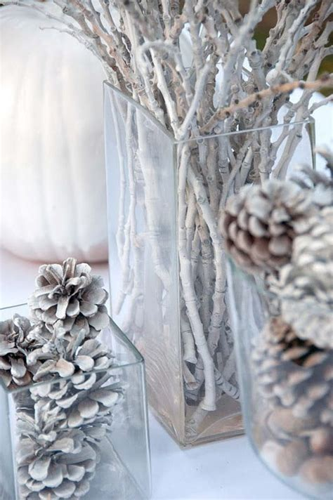 winter table decorations 30 beautiful pinecone decorating ideas tutorials for