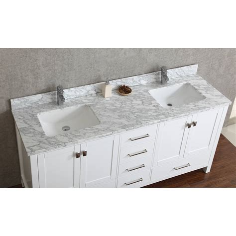 72 inch vanity buy vincent 72 inch solid wood bathroom vanity in