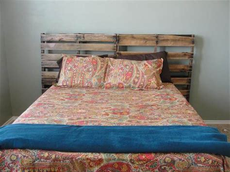 making a headboard out of pallets diy pallet headboards project pallet furniture diy