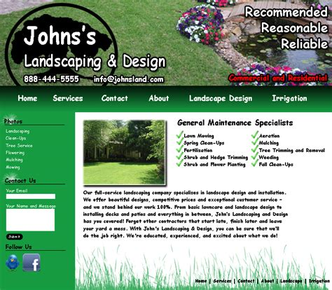 Best Photos Of Landscaping Website Templates Landscape Design Website Templates Free Landscape Architecture Website Templates