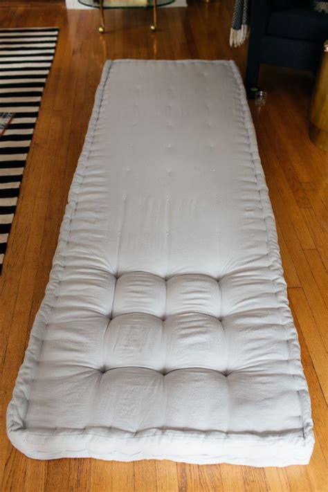 heres   diy  french tufted mattress diy mattress