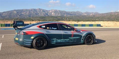 Tesla Racing Car Tesla Model S P100ds Will Power Electric Gt S Next All