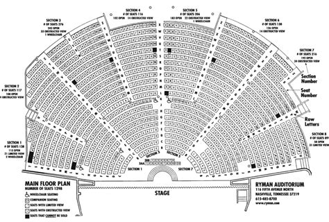 grand ole opry floor plan death cab tickets ftw taylor brooks