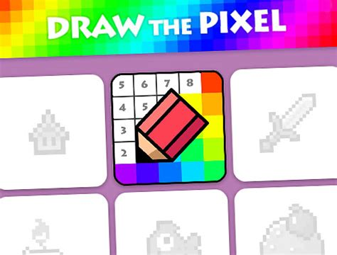 Drawing Unblocked by Draw The Pixel Unblocked