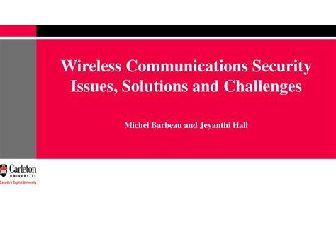 cloudputing security issues and challenges ppt ppt wireless communications security issues solutions