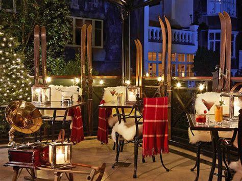themed bars london ski bars in london alpine ski themed drinking spots