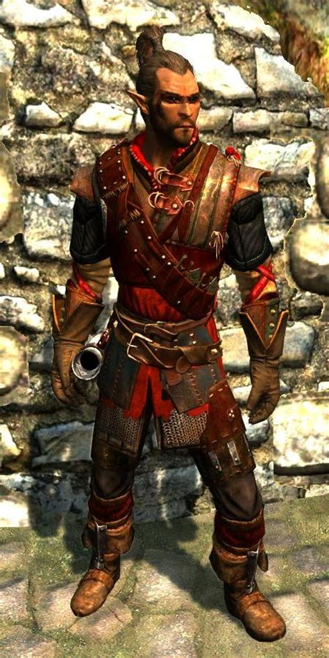 crimson ranger armor skyrim mod mod crimson archer immersive armors the elder scrolls mods