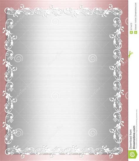 Pink Satin Shabby Chic Border Stock Photos   Image: 9174473