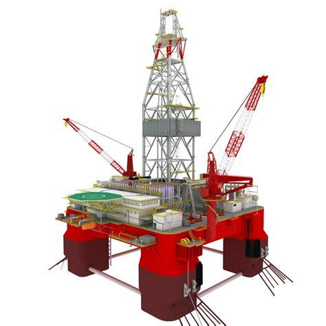 drilling rig image land rig site 1 3d animation oil offshore oil rig platform 3d fbx
