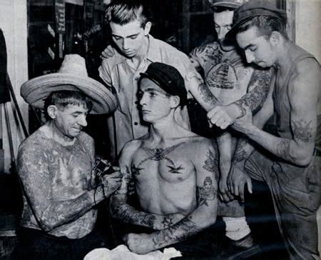 navy tattoo history from a bowery tattoo parlor quot remember pearl harbor