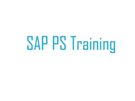 sap learning tutorial sap training ps material pr service pr cost