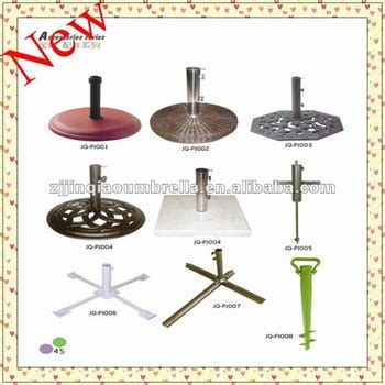 Beach Patio Outdoor Garden Umbrella Parts Umbrella Stands Patio Umbrella Stand Parts