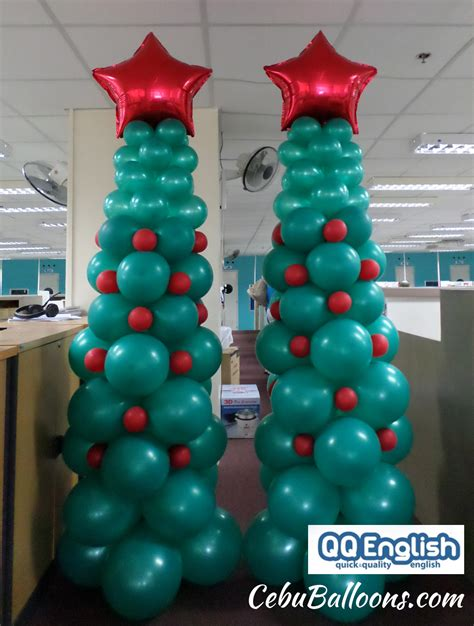 how to make a balloon christmas tree cebu balloons and supplies