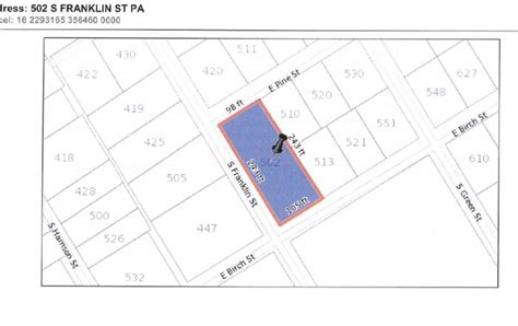 Apartment Complex Map 8 Unit Apartment Complex Only Minutes From Hershey
