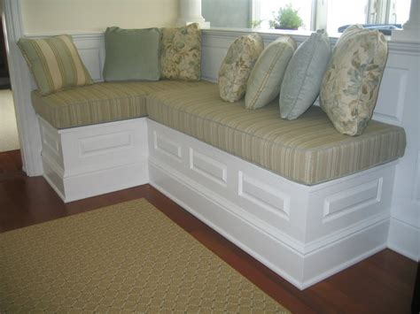 Banquette Furniture With Storage by Building A Storage Banquette For Room Interior