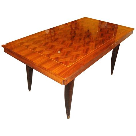Modern Dining Room Sets On Sale Italian Mid Century Modern Parquetry Inlaid Dining Table