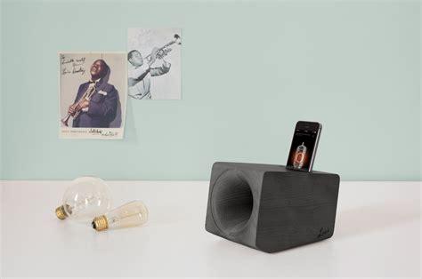 design milk speakers a wooden speaker that mimics the sound of vinyl design milk