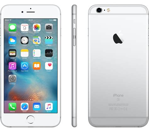 buy apple iphone 6s plus 32 gb silver free delivery currys